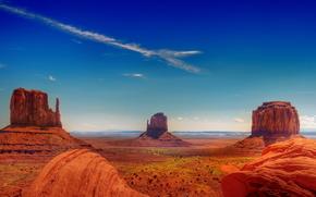 Monument Valley, Rocks, landscape