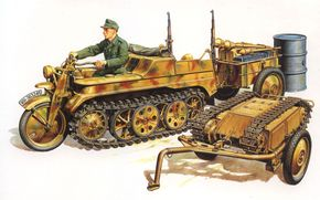 Art, German machinery, Wehrmacht, Sd.Kfz. 2