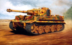 Art, tank, tiger, Tiger, Germany, Wehrmacht, German, WWII