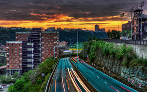 Duquesne Overpass, Pittsburgh, Pennsylvania, United States