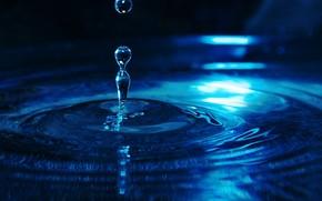 LIQUID, woda, spadek