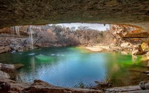 Hamilton Pool County Park, Dripping Springs, Texas, USA