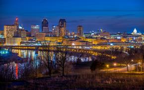 Висконсин, Mississippi River, город