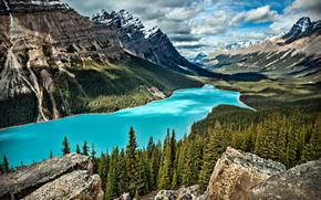Peyto lake, Banff National Park, AB, Canada