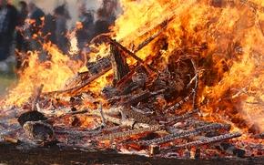 fuoco, fiamma, carboni
