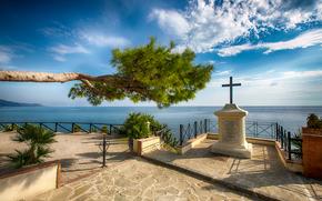 Ogliastro Marina, Italia, paesaggio