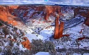Canyon de Chelly, nella nazione Navajo, Arizona