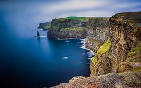 море, Скалы, Ирландия