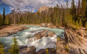 Yoho fiume, British Columbia, Canada