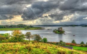 Castle Stalker, Situado en Argyll and Bute, en la costa oeste de Escocia