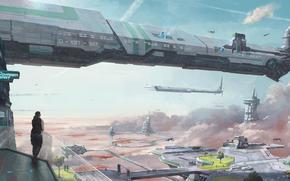 STAR_CITIZEN, sci_fi_spaceship, game_city, Hi tech