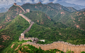 Great Wall, China, landscape