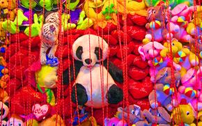 充填玩具, 熊, 大象, 心中