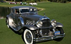 clásico, coche, nostalgia
