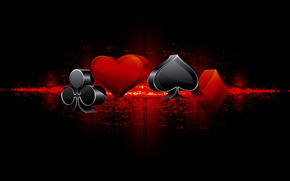 suit, spades, clubs, hearts, diamonds, black, background