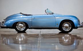 classic, car, nostalgia, 1955_Porsche_356A_1600_Super_Speedster_Reutter_T_1