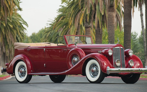 经典, 汽车, 怀旧之情, 1935_Packard_Twelve_Convertible_Sedan_Dietrich_1208_873_luxury