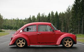 classico, auto, nostalgia, Volkswagen