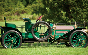 classic, car, nostalgia, 1909_Pierce_Arrow_Model_UU_36_HP_Runabout