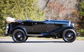 classic, car, nostalgia, 1930_Ford_Model_A_4_door_Phaeton