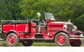 经典, 汽车, 怀旧之情, 1930_Ahrens_Fox_P_S_14_Firetruck