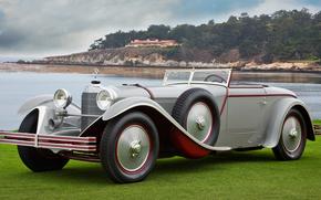 classic, car, nostalgia, 1928_Mercedes_Benz_680S