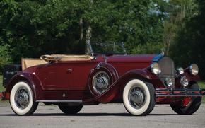 classico, auto, nostalgia, 1930_Pierce_Arrow_Model_B_Roadster