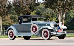 classico, auto, nostalgia, 1931_Packard_Deluxe_Eight_Convertible_Coupe