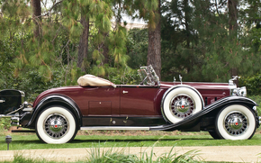 classico, auto, nostalgia, 1931_Packard_Deluxe_Eight_Roadster