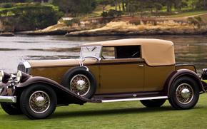 classico, auto, nostalgia, 1931_Pierce_Arrow_Model_41_Convertible_Victoria_LeBaron