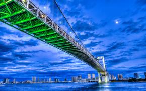 Rainbow-bridge, Tokyo, giappone