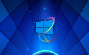 papel de parede, Windows, 3d