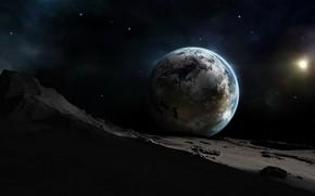 Espacio, Planeta, fantasa