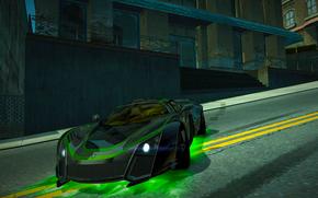 NFSW, juego, coche