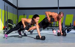 ragazza, Sport, Fitness