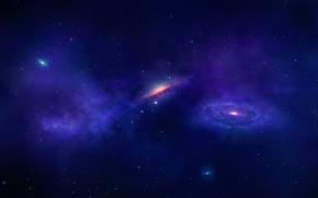 spazio, cielo, Stella, abisso