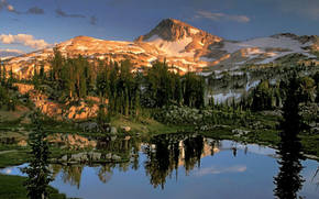charakter, Ameryka, Góry