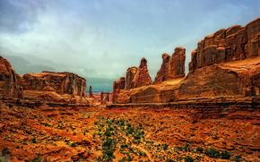 Arches National Park, Utah, скалы