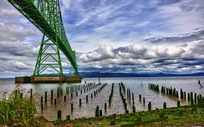 Oregon, Columbia River, Astoria Bridge
