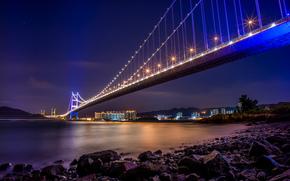 мост, Sai Tso Wan, Tsing Yi, Гонконг