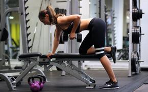 chica, deportes, ropa de deporte, Activewear, moda, leggins, ejercicio, gymra, Aptitud, crossfit