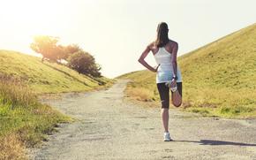 ragazza, sportivo, stile, activewear, abbigliamento sportivo, ghette, collant, abiti, Fitness, CrossFit, pilates, yoga