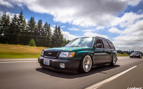 stance, Forester, Subaru