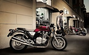 bike, Honda, profile, CB1100A, Deluxue, ABS