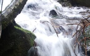 Водопар, Речка, Макро, Пейзаж, Красота, вода