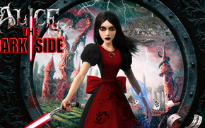 Alice Madness Returns, sabre laser, pour le plaisir