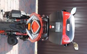 фотокартина, печать на холсте на заказ Украина ArtHolst VIPER FLEX VP150M, скутер, мотороллер