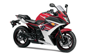 motocykl, 2015, Yamaha, FZ6R