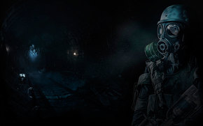 Metro 2033, harceleur, tunnel.