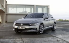 domestico, auto, 2015, Volkswagen, passat, b8, Sedan